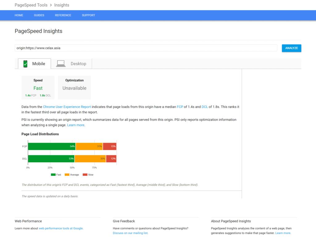 Googles Chrome User Experience Report